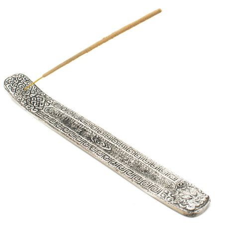 Silver Incense Burner Ash Catcher