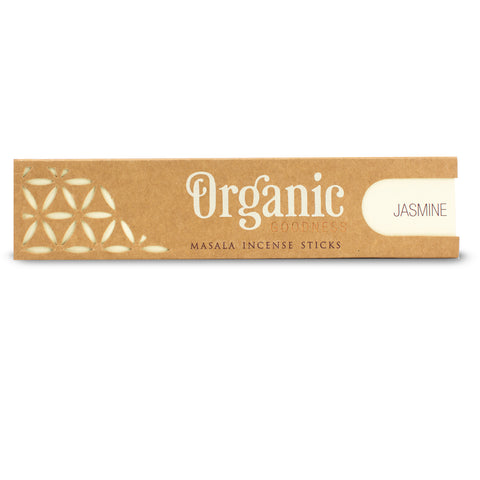 Jasmine - Organic Goodness Masala Incense Sticks
