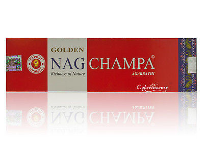 Golden Nag Champa Incense Sticks Vijayshree