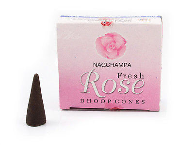 Rose Nag Champa Incense Cones