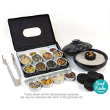 Essential 12 Resin Incense Sampler Complete Kit Gift Set