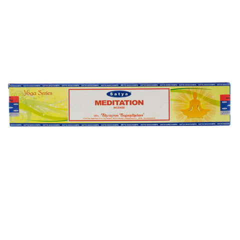 Meditation - Yoga Series Nag Champa Incense Sticks