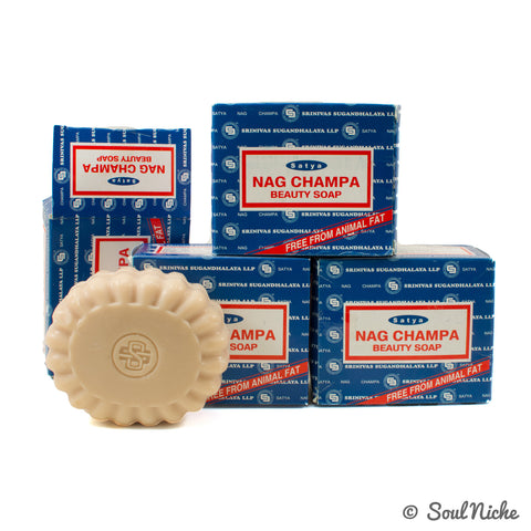 4-Pack Nag Champa Beauty Soap (150 Gram)