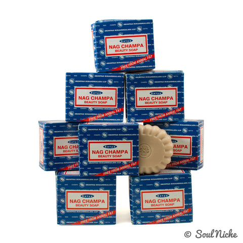 8-Pack Nag Champa Beauty Soap (150 Gram)