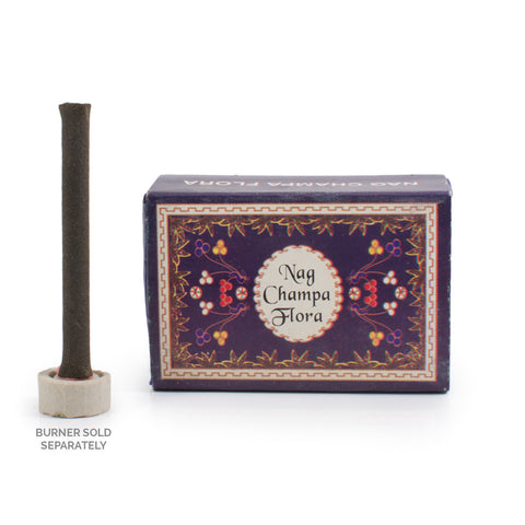 Nag Champa Flora Dhoop Incense Logs