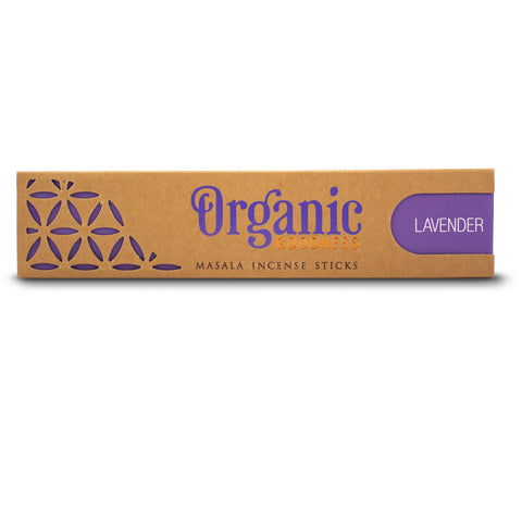 Lavender - Organic Goodness Masala Incense Sticks