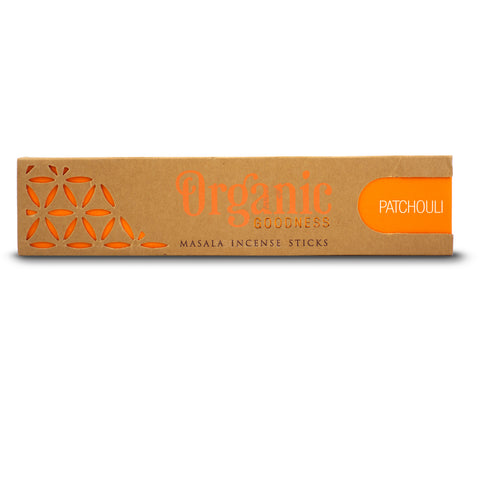 Patchouli - Organic Goodness Masala Incense Sticks