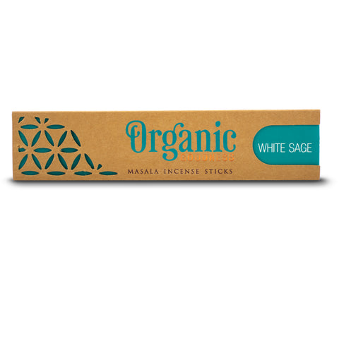 White Sage - Organic Goodness Masala Incense Sticks