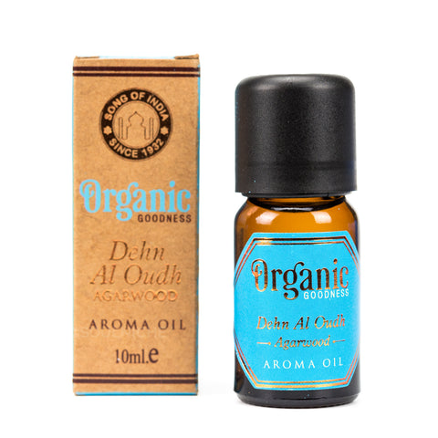 Oudh Agarwood - Organic Goodness Aroma Oil
