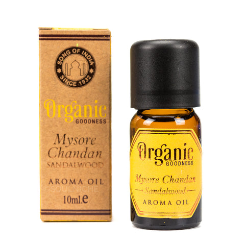 Organic Goodness Aroma Oil - Mysore Chandan Sandalwood ml
