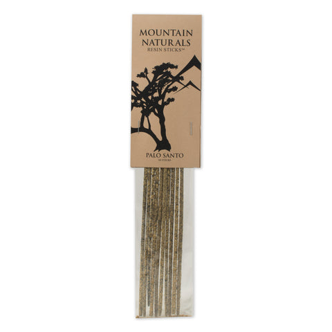 Palo Santo Resin Incense Sticks - by Mountain Naturals