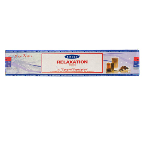 Relaxation - Yoga Series Satya Nag Champa Incense Sticks