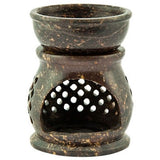 Natural Colored Soapstone Aroma Lamp - Oil Diffuser