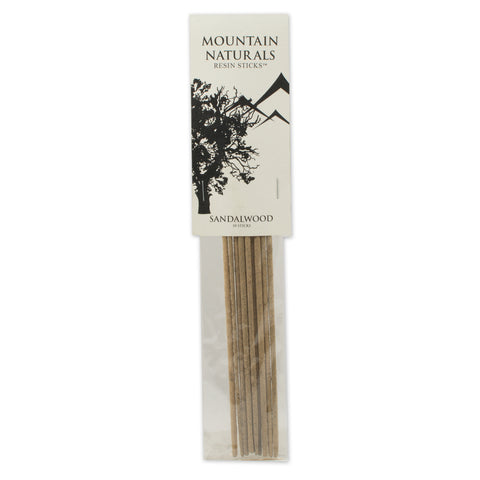 Sandalwood Resin Incense Sticks - by Mountain Naturals