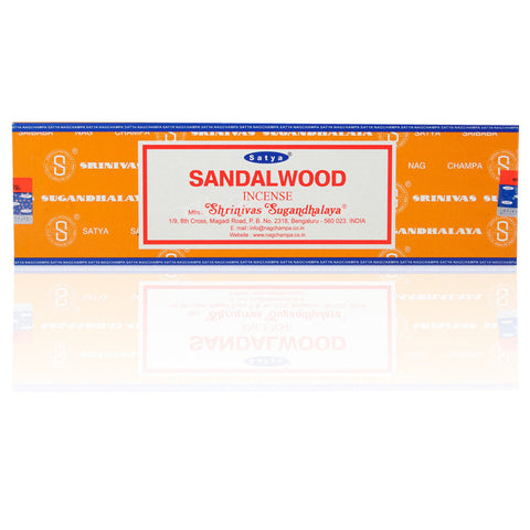 Sandalwood Satya Nag Champa Incense Sticks