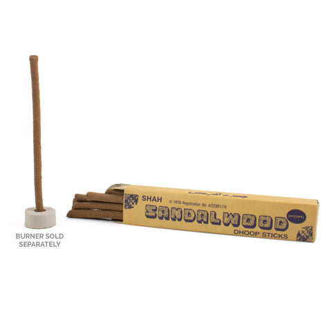 zSandalwood Dhoop Incense Sticks (King Size)