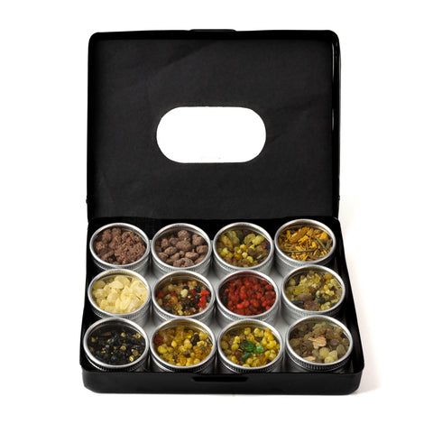 Spring Cleansing Resin Incense Sampler Tin Gift Set