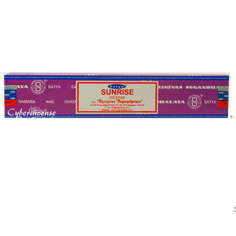 Sunrise Satya Nag Champa Incense Sticks