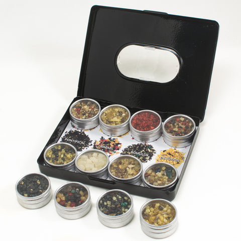 Three Kings Holiday Resin Incense Sampler Tin Gift Set