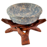 Stone Charcoal Incense Burner w/Stand