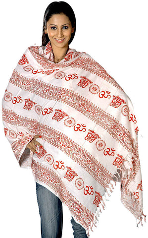 Om Prayer Shawl