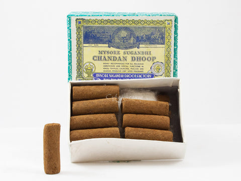 Mysore Chandan Sandalwood Incense Dhoop Logs