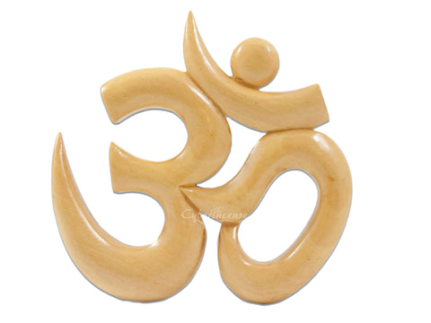 Wooden Om Wall Art Soul Niche