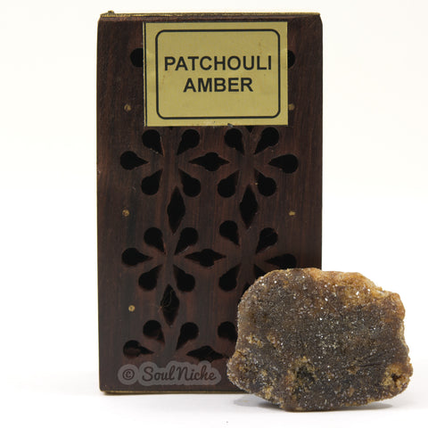 Patchouli Amber Resin