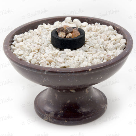 Soapstone Charcoal Incense Burner 60