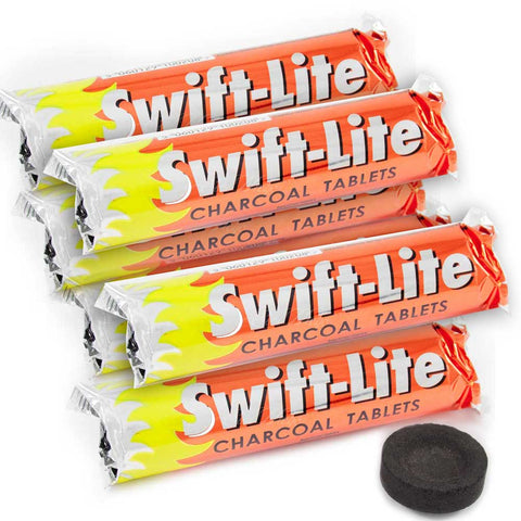 Swift Lite Charcoal Tablets 33mm (6/12 Pack)