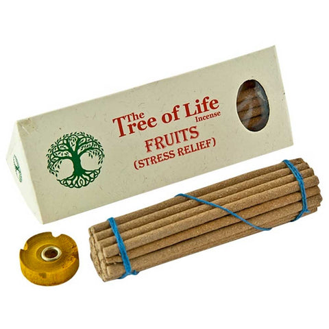 The Tree of Life Incense (Nepal) - Fruits Stress Relief