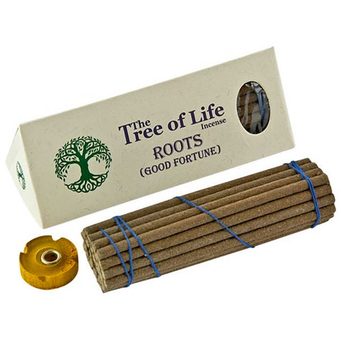 The Tree of Life Incense (Nepal) - Roots Good Fortune