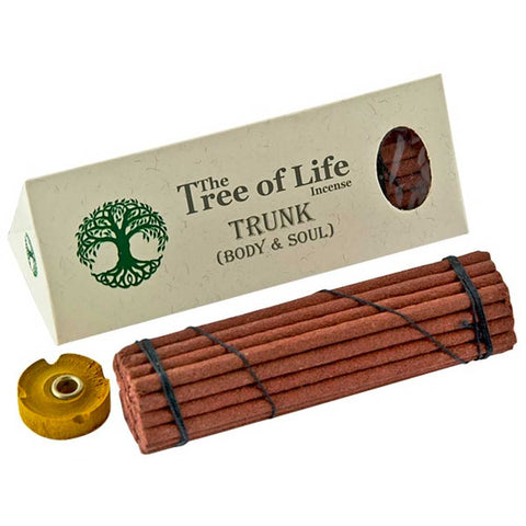 The Tree of Life Incense (Nepal) - Trunk Body & Soul