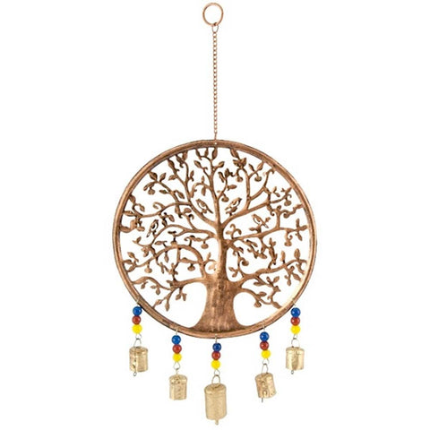 Tree of Life Wind Chime w/ Bells & Beads 119
