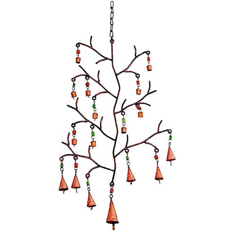 Tree of Life Wind Chime w/ Bells & Beads 28