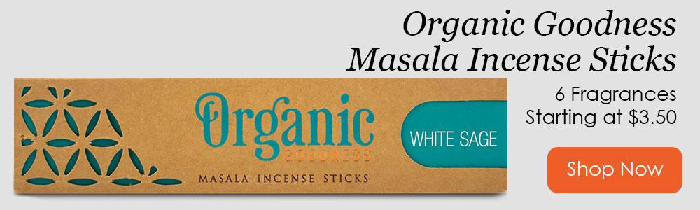Organic Goodness Incense