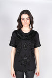 Any Old Iron Star Black T-Shirt