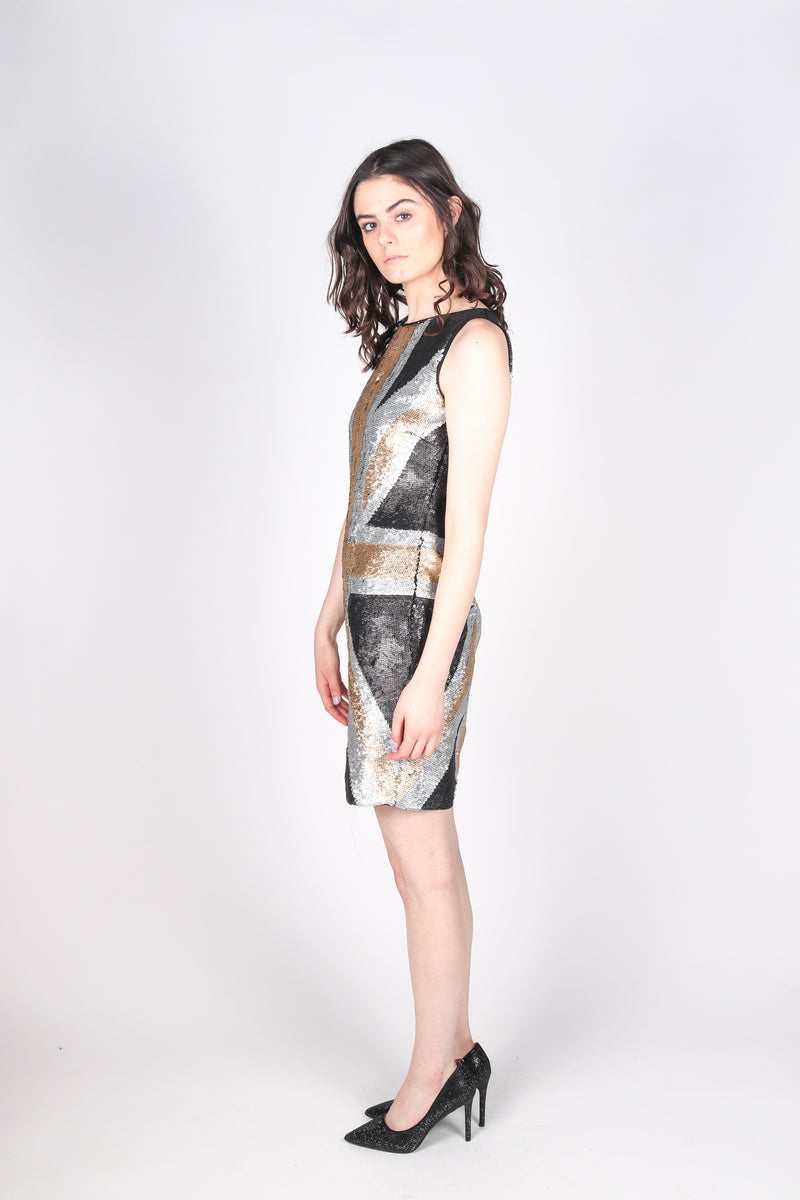 Any Old Iron Metal Jack Dress