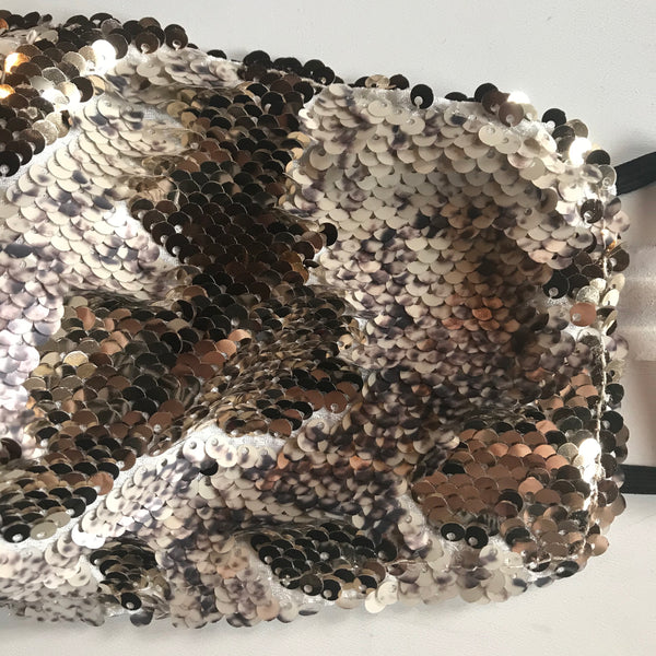 Any Old Iron Snakeskin Face Cover