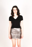 Any Old Iron Silver Skirt