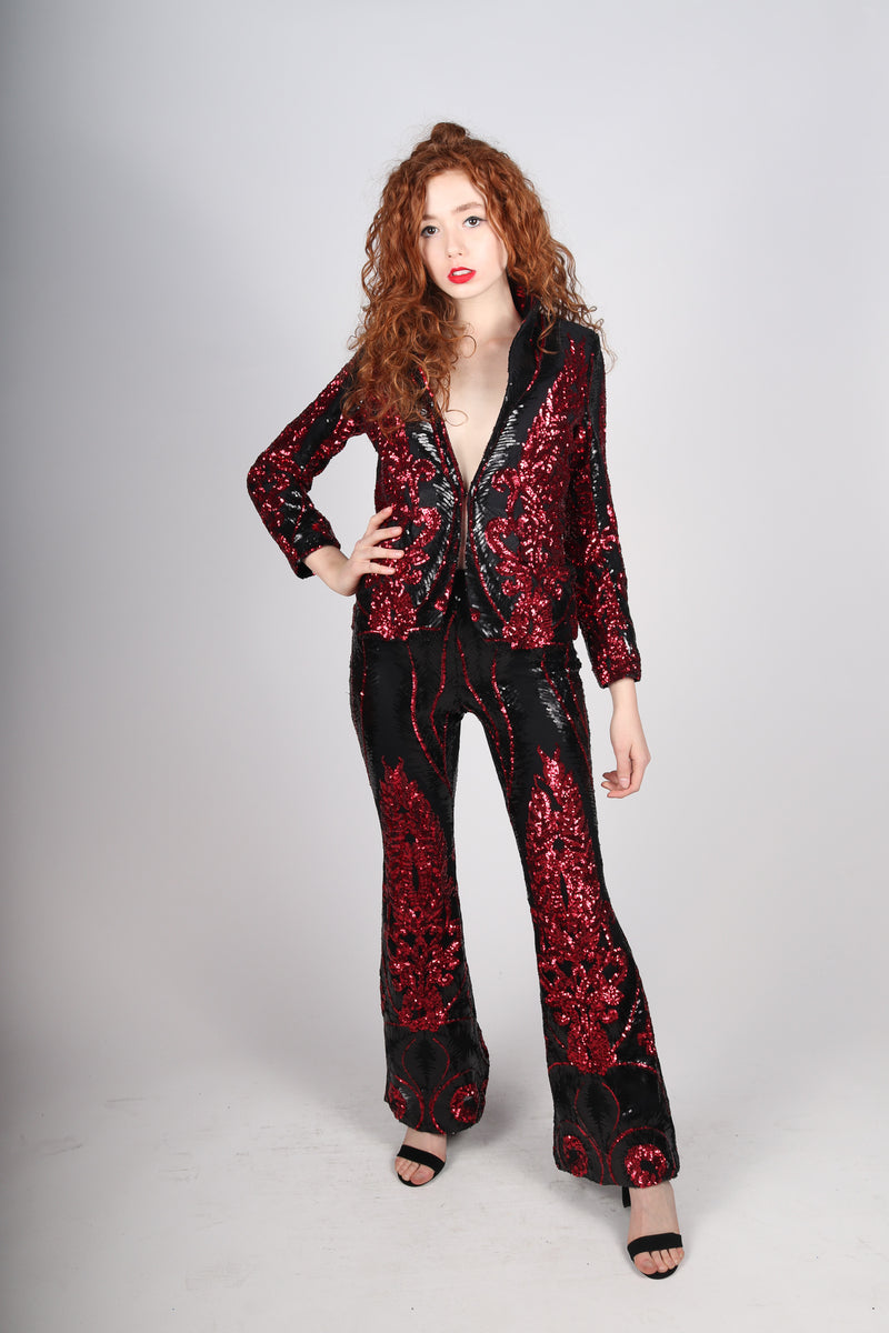 Any Old Iron Baroque and Roll Red Suit
