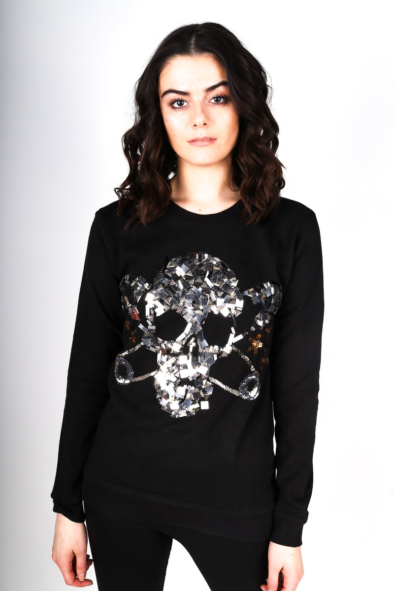 Any Old Iron Skull Sweatshirt