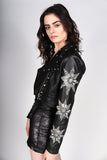 Any Old Iron Black Star Leather Jacket