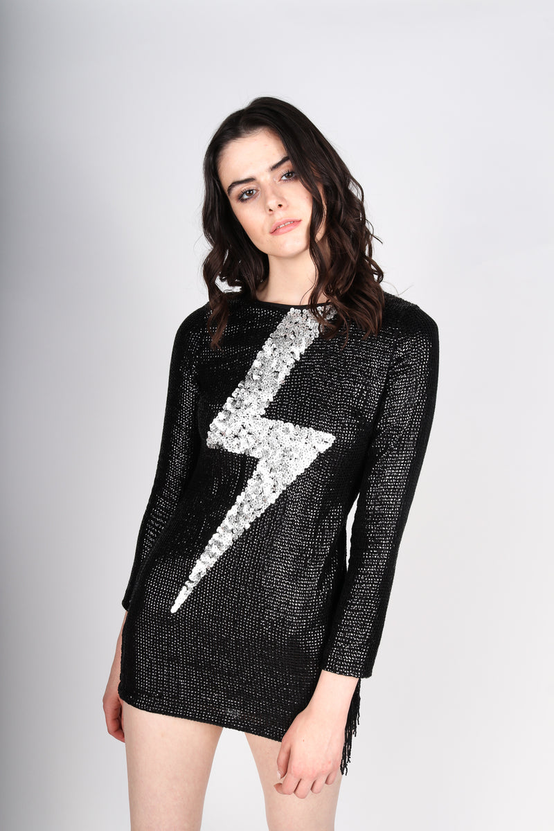 Any Old Iron Lightning Dress