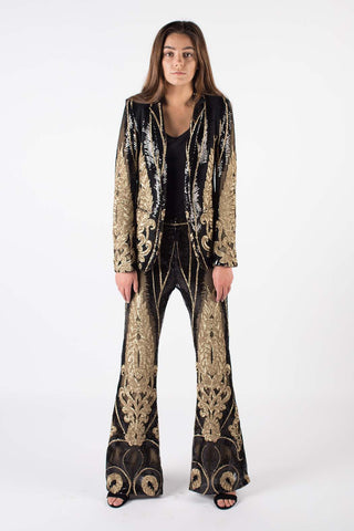 Baroque & Roll Sequin Suit