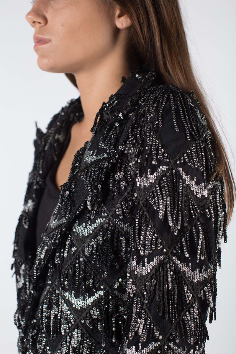 Any Old Iron Sequin Chandelier Suit