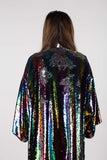 Any Old Iron Rainbow Sequin KImono