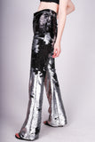 Any Old Iron Matt Silver Sequin Pants