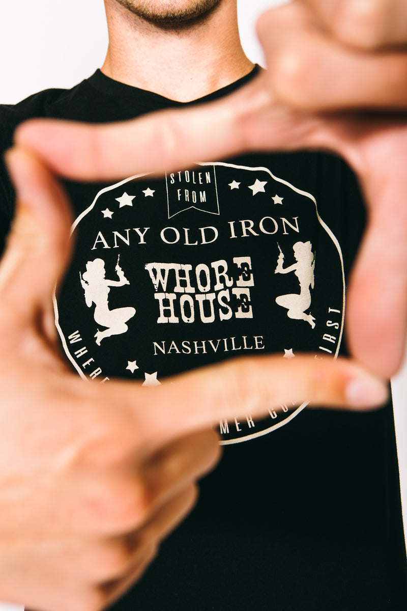 Any Old Iron Mens Whorehouse T-Shirt