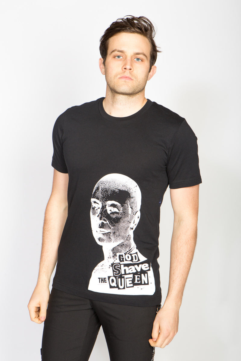 Any Old Iron God Shave The Queen T-Shirt